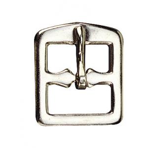 Boucle d'étrivière acier nickelé