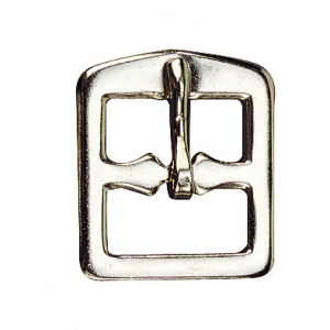 Stirrup leather buckle Nickel plated