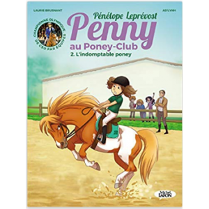 BD Penny au Poney-Club - L'indomptable poney