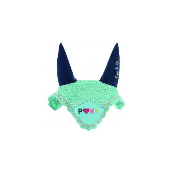 Bonnet chasse-mouches Equi-Kids Pony Love