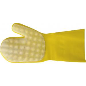 Striegelhandschuh aus Latex