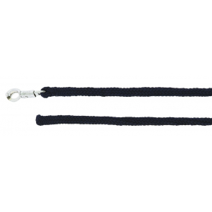 NORTON synthetic sheepskin lead rope with panic snap