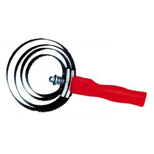 Étrille métallique ronde