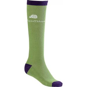 EQUITHÈME Flower socks, solid