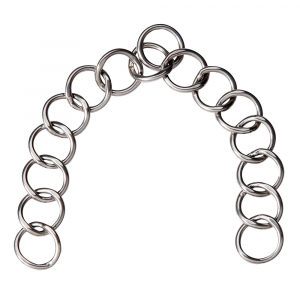 15-Rings carriage driving curb chain