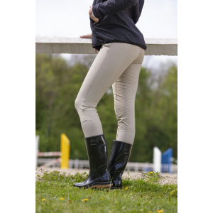 Pantalon EQUITHÈME Micro Fond Silicone - Enfant