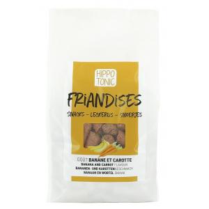 Hippo-Tonic Pferdeleckerli - Banane und Karotte