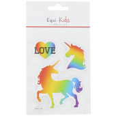 Stickers Equi-Kids Relief Love