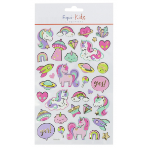 Stickers Equi-Kids Relief...