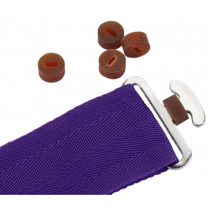 Surcingles rubber stoppers