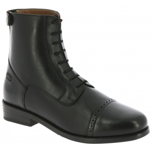 Boots EQUITHÈME Dauville à lacets et zip