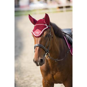 Bonnet chasse-mouches Equithème Cristal Crown