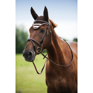 EQUITHÈME Stripe fly mask