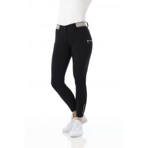 Pantalon EQUITHÈME Lor fond silicone - Femme