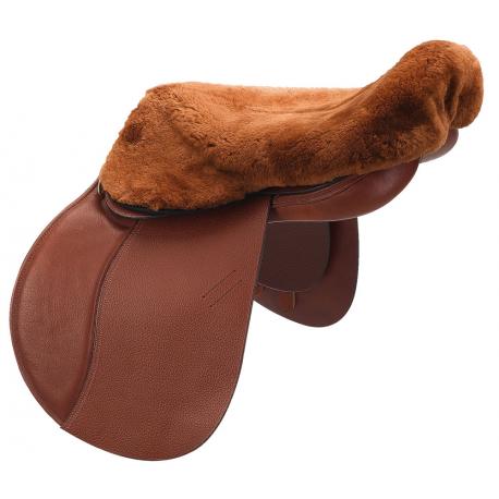 C.S.O. Real sheepskin saddle cover
