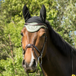 Bonnet chasse-mouches Back on Track® Night Collection à oreilles