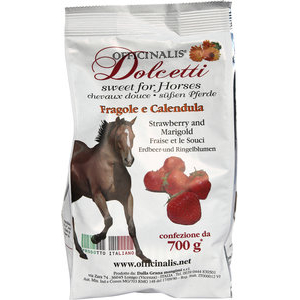 Bonbons Officinalis fraise, calendula